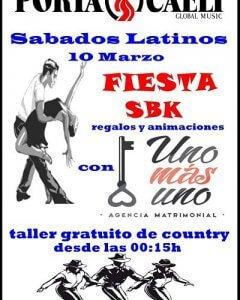 Fiesta country 10 de marzo sala Portacaeli
