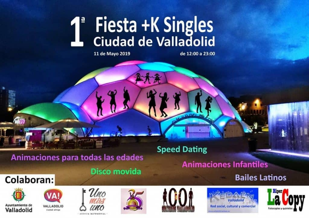 Fiesta Solteros Valladolid Cúpula del Milenio